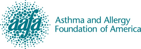 The Asthma And Allergy Foundation Of America