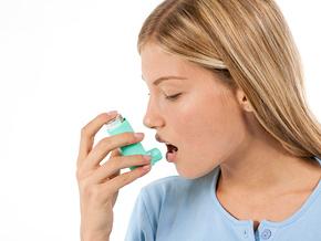 Asthma sufferer