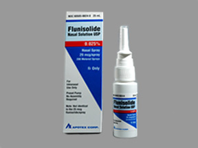 Flunisolide nasal spray