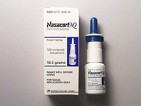 Nasacort AQ nasal spray
