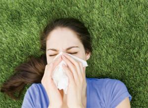 allergic to grass